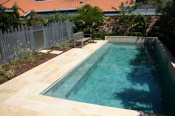 pool natural stone
