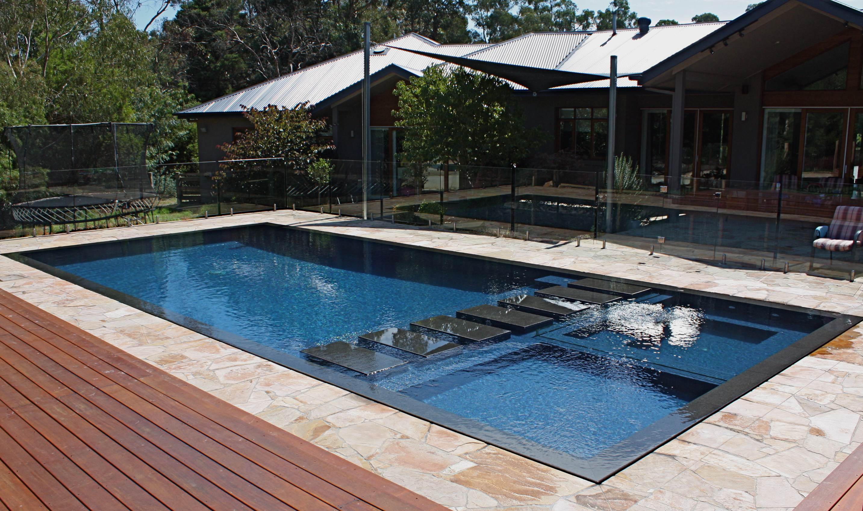 Minke pools melbourne concrete swimming pool design and for Pool design and construction
