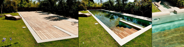 moveable pool floor